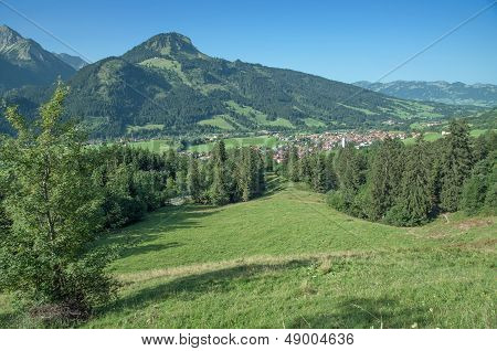 Bad Hindelang,Allgaeu,Bavaria,Germany