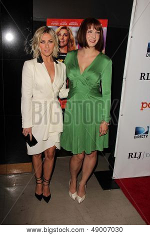 LOS ANGELES - AUG 6:  Julianne Hough, Diablo Cody arrives at the DirecTV Premiere of