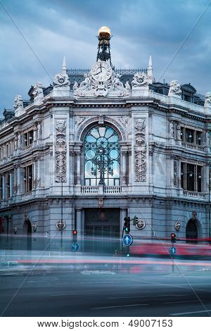 Bank Of Spain Old Building