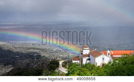 Rainbow, Rain And Church