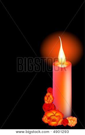 Beautiful Candle