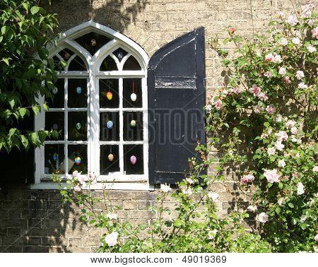 Easter egg window