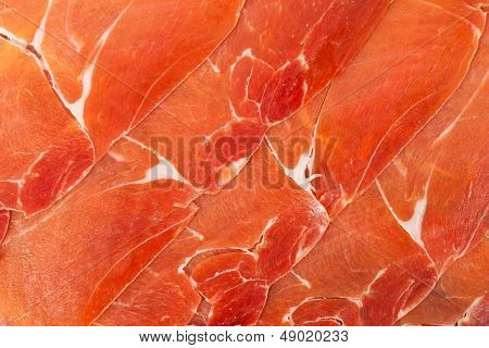 Spanish Jamon Iberico Sliced..