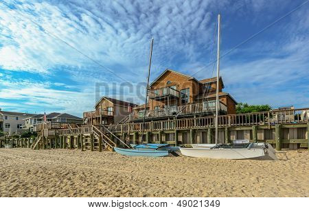Beach House on the Chesapeake Bay