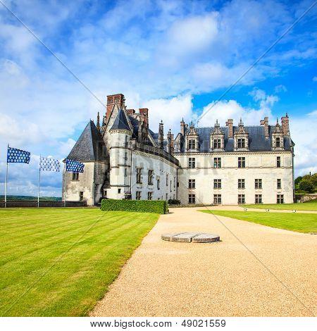Amboise Castle, Leonardo Da Vinci Tomb. Loire Valley, France