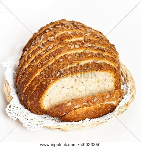 Bread made from whole grain