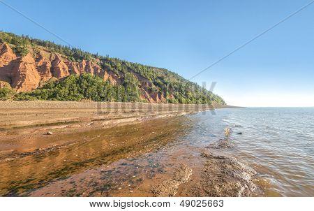 Rocks Of The Blomidon Cliffs