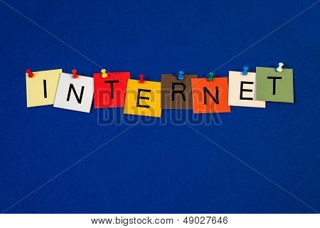 Internet - Sign Series For Business.