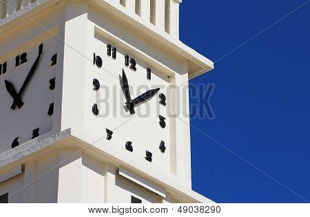 The clock of les Sables d'Olonne