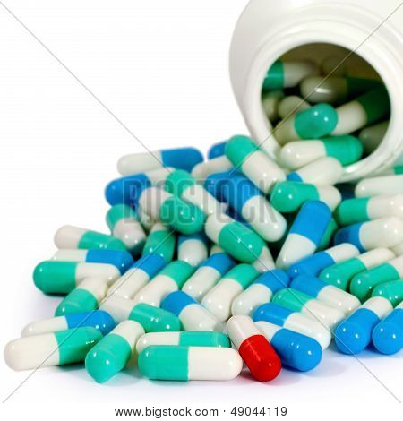 Pills Antibiotic