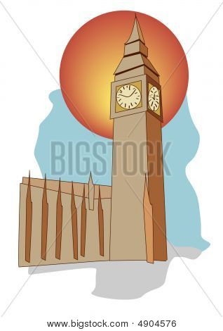 Big Ben Of London England