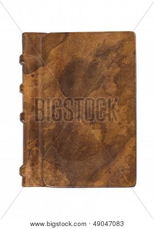 precious book with a noble leather cover