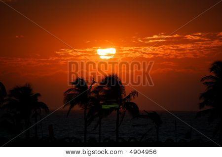 Fort Ilocandia Resort, Ilocos Norte, Philippines Beautiful Sunset