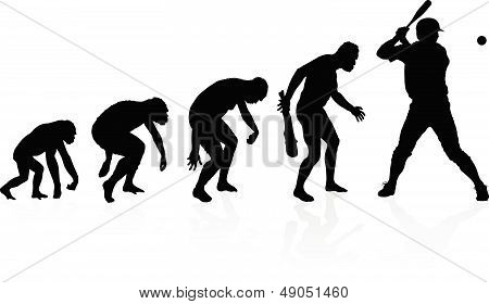 Evolution Of The Baseball Player