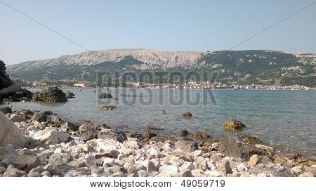 Piece of nature, gulf of Baska