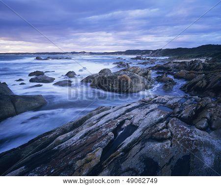 Australia Rocky coast