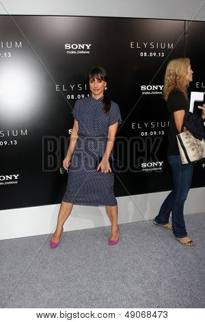 LOS ANGELES - AUG 7:  Constance Zimmer arrives at the