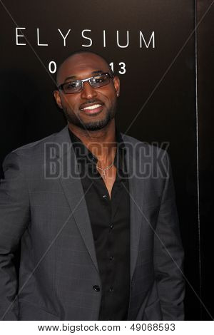 LOS ANGELES - AUG 7:  Adrian Holmes arrives at the