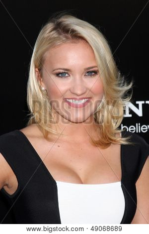 LOS ANGELES - AUG 7:  Emily Osment arrives at the
