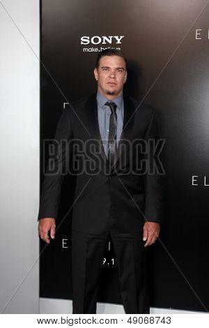LOS ANGELES - AUG 7:  Brandon Auret arrives at the