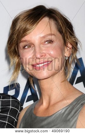 LOS ANGELES - AUG 8:  Calista Flockhart arrives at the