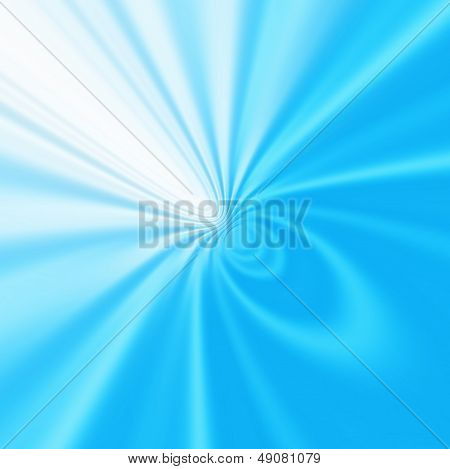 Blue Ripples Abstract Background