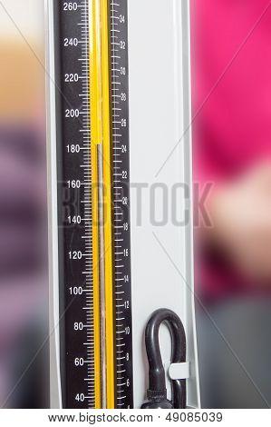 Close-up Sphygmomanometer