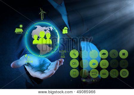 Engineer Hand Show World Of Industry