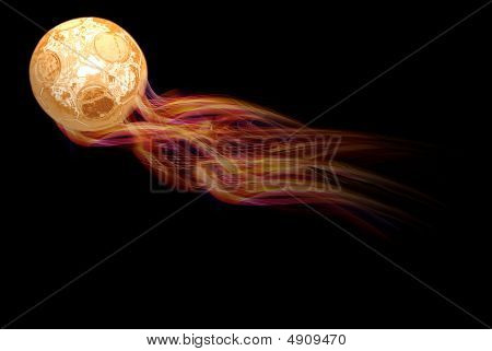 Ball In Fire