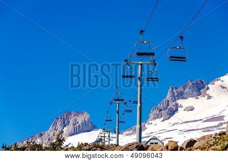 Chairlift Above