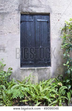 Alley Window