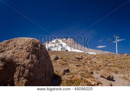 Boulder And Mount Hood