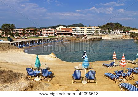 Sidari resort at Corfu island, Greece