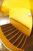 Stairs in yellow