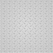 Light metal texture background. Vector.