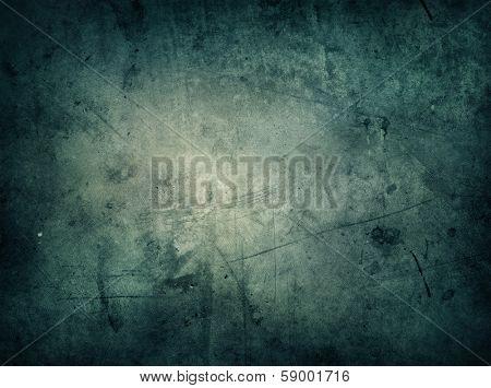 Dark grunge textured wall background