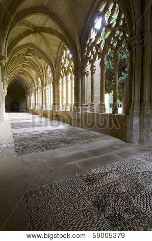 Cistercian monastery of Oliva, Carcastillo, Navarra, Spain.