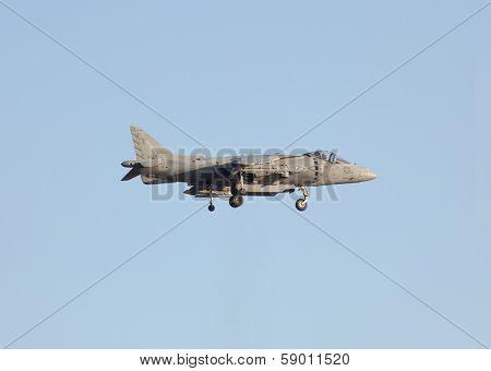 MCAS MIRAMAR, CA - OCTOBER 3:U.S. Marine AV-8B Harrier II