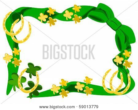 Bow Gold Horseshoes