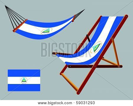 Nicaragua Hammock And Deck Chair Set