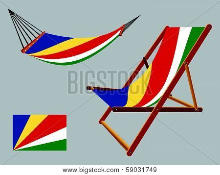 Seychelles Hammock And Deck Chair Set