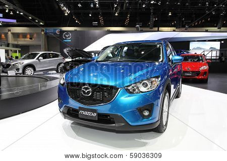 Nonthaburi - November 28: Mazda Cx-5 Car On Display At The 30Th Thailand International Motor Expo On
