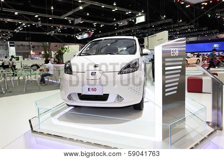 Nonthaburi - November 28: Md E50 Car On Display At The 30Th Thailand International Motor Expo On Nov