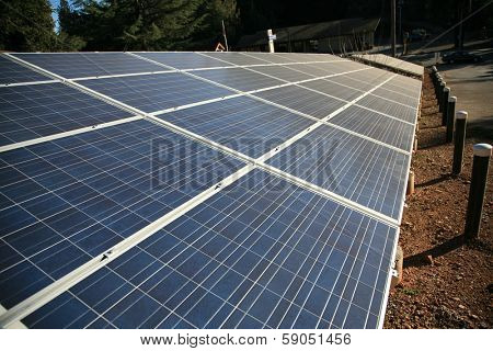Solar Panels collect sunlight to generate electricity to power equipment and make life easier for all who use power. Solar is a Clean source of electrical energy saves the world from Global Warming.