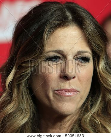 LOS ANGELES - JAN 24: Rita Wilson at the 2014 MusiCares Person Of The Year event at the Convention Center on January 24, 2014 in Los Angeles, CA