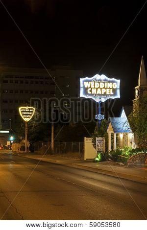 Wedding Chapels In Las Vegas, Usa