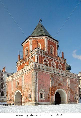 Barbican Tower (bridge Tower), Izmaylovo Estate, Moscow, Russia