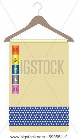 Label Clothes Hanger