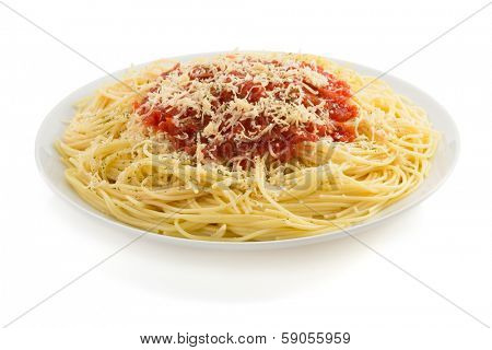 pasta spaghetti macaroni isolated on white background
