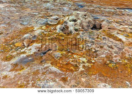 Geothermal Area Hverir, Iceland